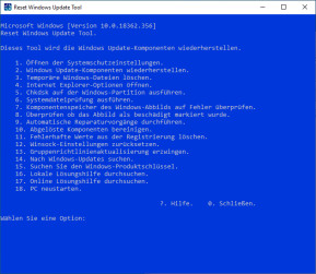 Reset Windows Update Tool