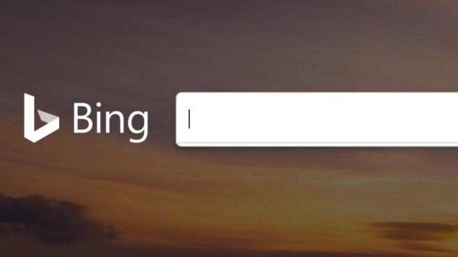 """Bing: Suche aktivieren – ohne Klick ins Suchfeld """"bingen"""" Microsoft hat Bing mit einer sinnvollen Aktivierung des Suchfeldes ausgestattet. Google ist hier im Hintertreffen.©COMPUTER BILD"""
