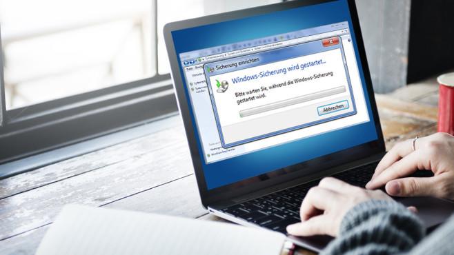 Windows-7-Backup: Windows-Sicherung wird gestartet©Rawpixel.com-Fotolia.com