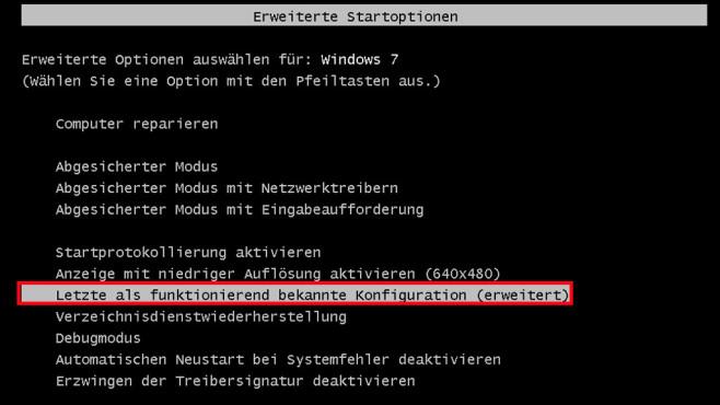 Windows-7-Backup: Windows zurücksetzen – Weitere Reparaturoptionen©COMPUTER BILD