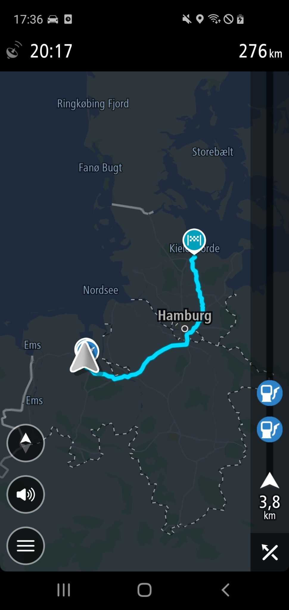 Screenshot 1 - TomTom GPS Navigation (Android-App)