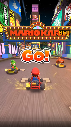 Screenshot 1 - Mario Kart Tour (App für iPhone & iPad)