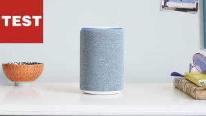 Der neue Amazon Echo 2019: Jetzt klingt Alexa satter! Der neue Amazon Echo 2019 ist gegenüber dem 2017er-Modell etwas gewachsen, das Textilmäntelchen ist dezent überarbeitet.©Amazon