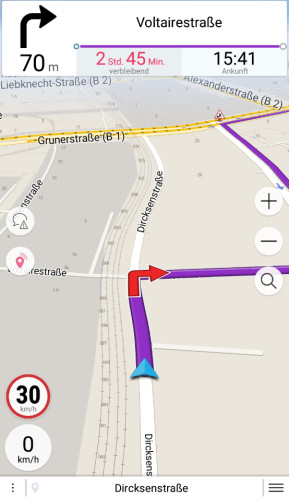 Navmii Offline GPS Welt (Android-App)