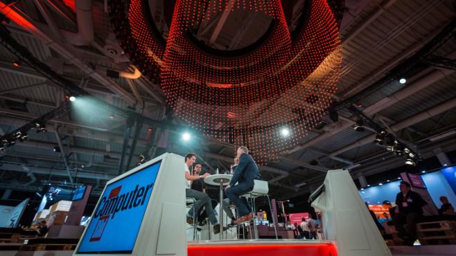 IFA Next: COMPUTER BILD-Stand in Halle 26©COMPUTER BILD