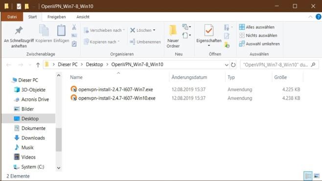 OpenVPN-Ratgeber: Installationsdateien©COMPUTER BILD