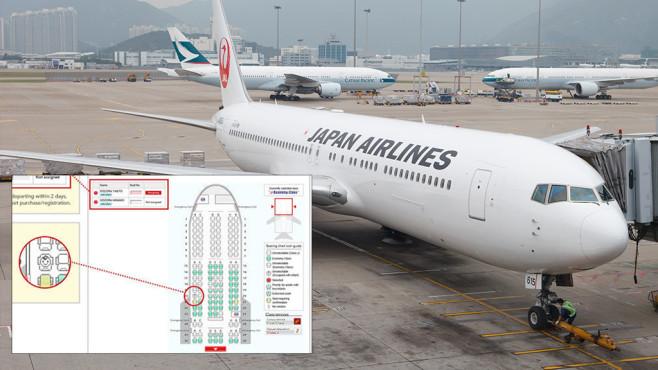 Kindersitzkarte bei Japan Airlines©Japan Airlines, iStock.com/winhorse
