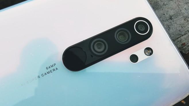 Xiaomi Redmi Note 8 Pro: Kameraleiste©COMPUTER BILD / Michael Huch
