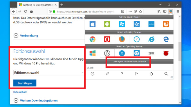 Windows 10: Falsche Fakten – wo Sie Microsoft anlügen, um ans Ziel zu kommen©COMPUTER BILD