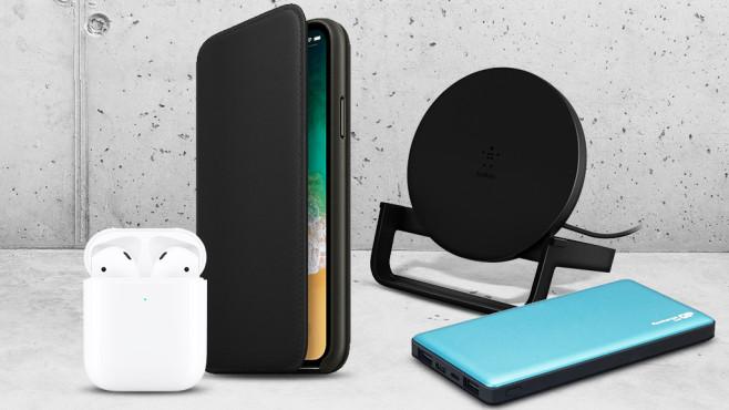 iPhone 11 Zubehör©iStock.com/Friedrich, Belkin, Apple, GP Batteries