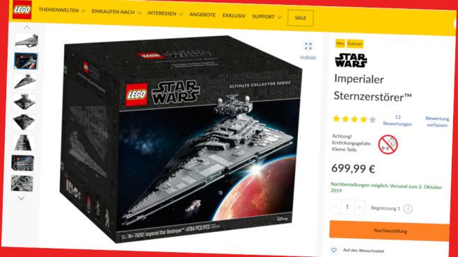 Lego Shop: Exklusive Cashback-Aktion©Screenshot www.lego.com
