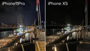 iPhone 11 vs. XS Nachtaufnahme©COMPUTER BILD