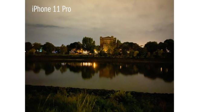 iPhone 11 Pro Nachtaufnahme©COMPUTER BILD