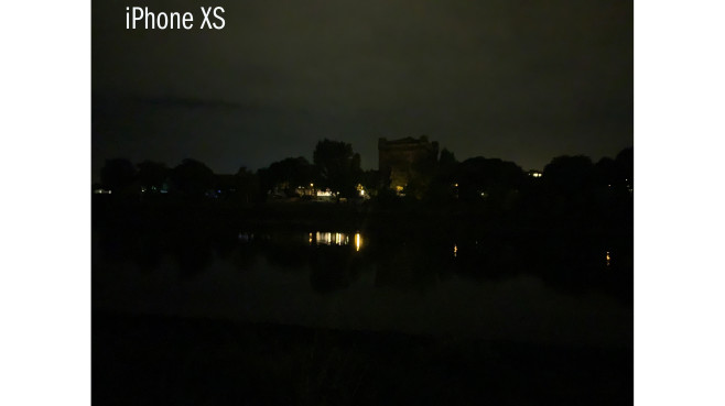 iPhone XS Nachtaufnahme©COMPUTER BILD
