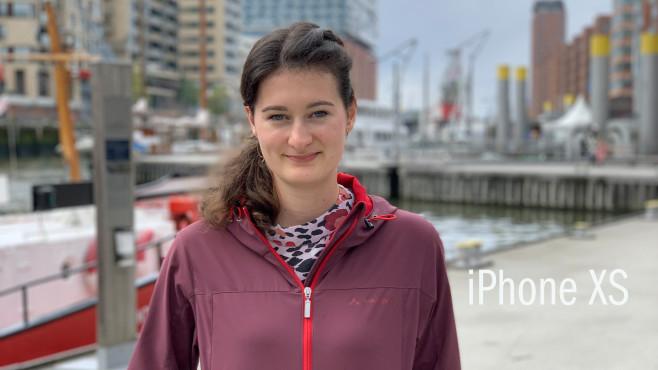 iPhone XS: Portraitmodus (Ausschnitt)©COMPUTER BILD