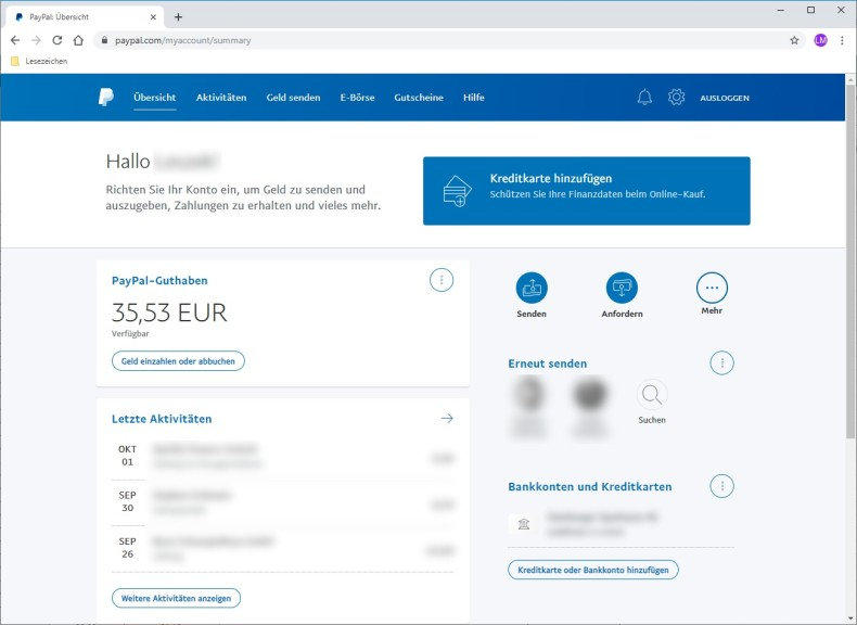 Screenshot 1 - PayPal
