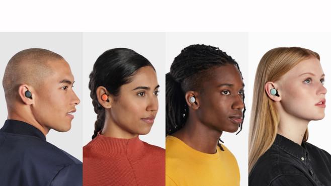Google Pixel Buds 2: Neue In-Ear-Kopfhörer Die Google Pixel Buds 2 kommen in vier Farben auf den Markt.©Google