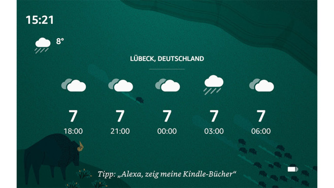Screenshot vom Amazon Fire HD 10 © Amazon