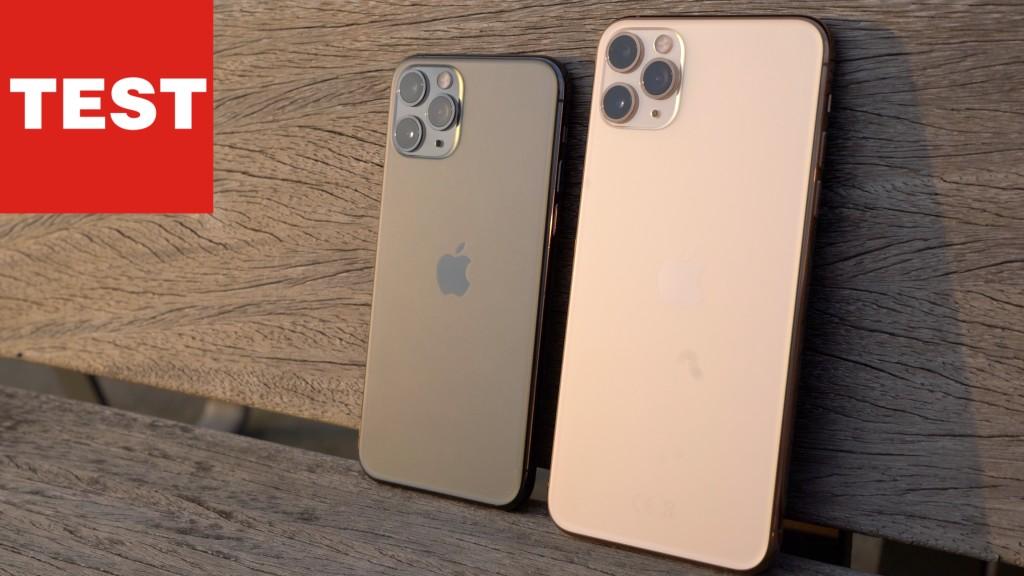 Handliche Granate: iPhone 11 Pro & Pro Max im Test ...