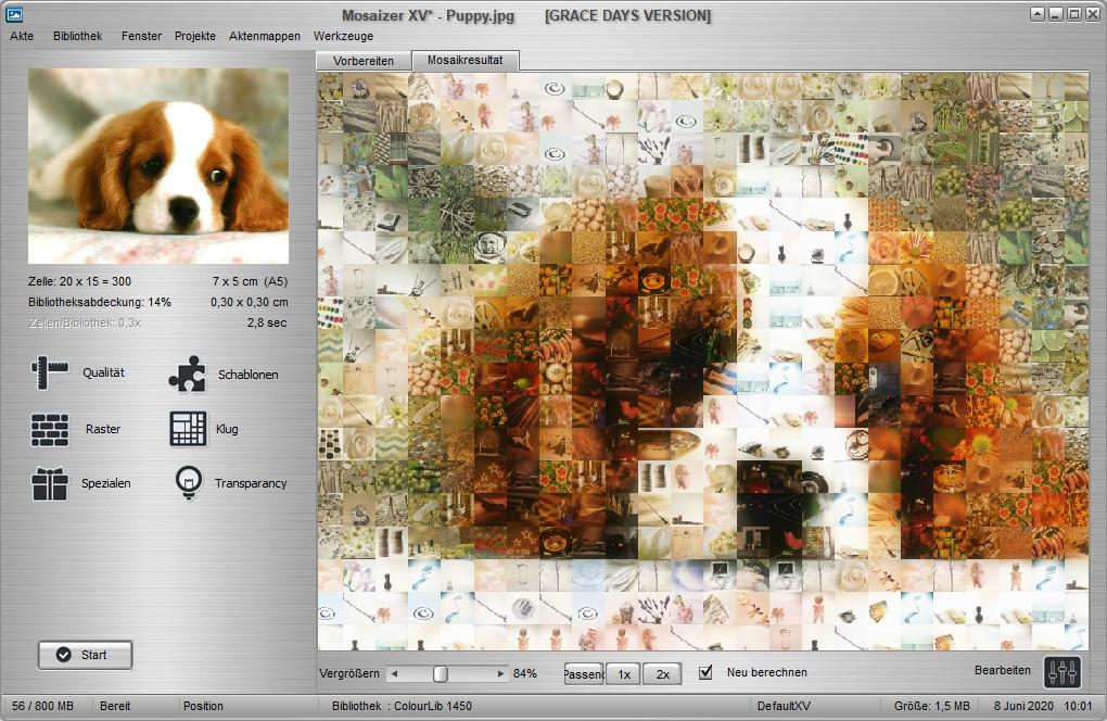 Screenshot 1 - Mosaizer