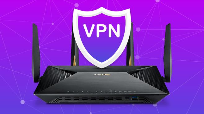 VPN-Router©Asus, iStock.com/Oleksandr Hruts