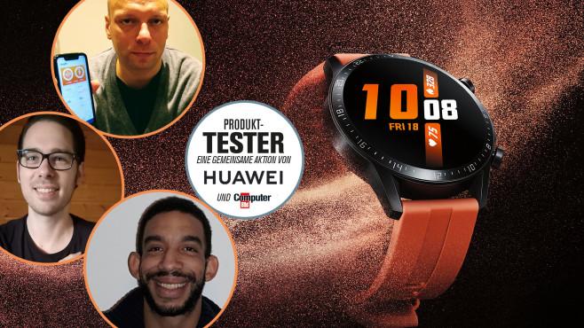 Huawei Watch GT2 im Lesertest©Huawei