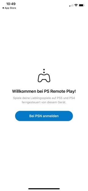 PS Remote Play (App für iPhone & iPad)