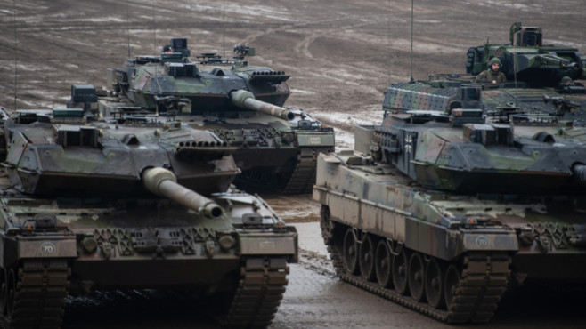 Bundeswehr-Panzer©dpa-Bildfunk