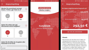 Flugärger-App©Verbraucherzentrale NRW