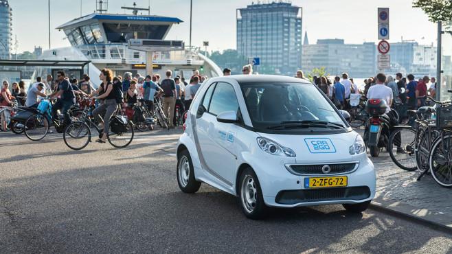 Smart in Amsterdam©car2go