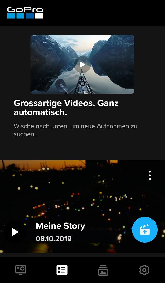 Screenshot 1 - GoPro (App für iPhone & iPad)