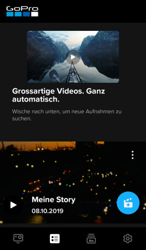 GoPro (App für iPhone & iPad)