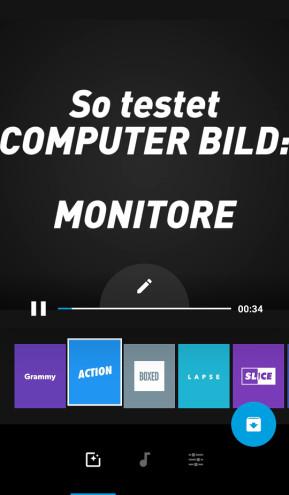 GoPro Quik (App für iPhone & iPad)