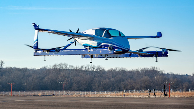 Boeings autonomes Flugtaxi©Boeing