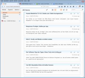 Brief für Firefox