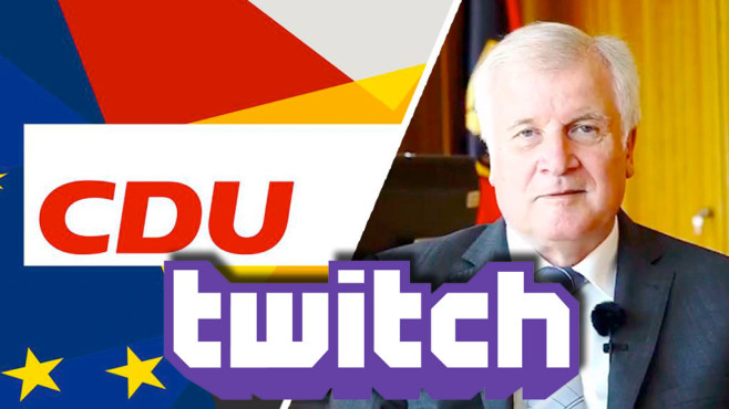 Horst Seehofer © Twitter / Facebook / Twitch