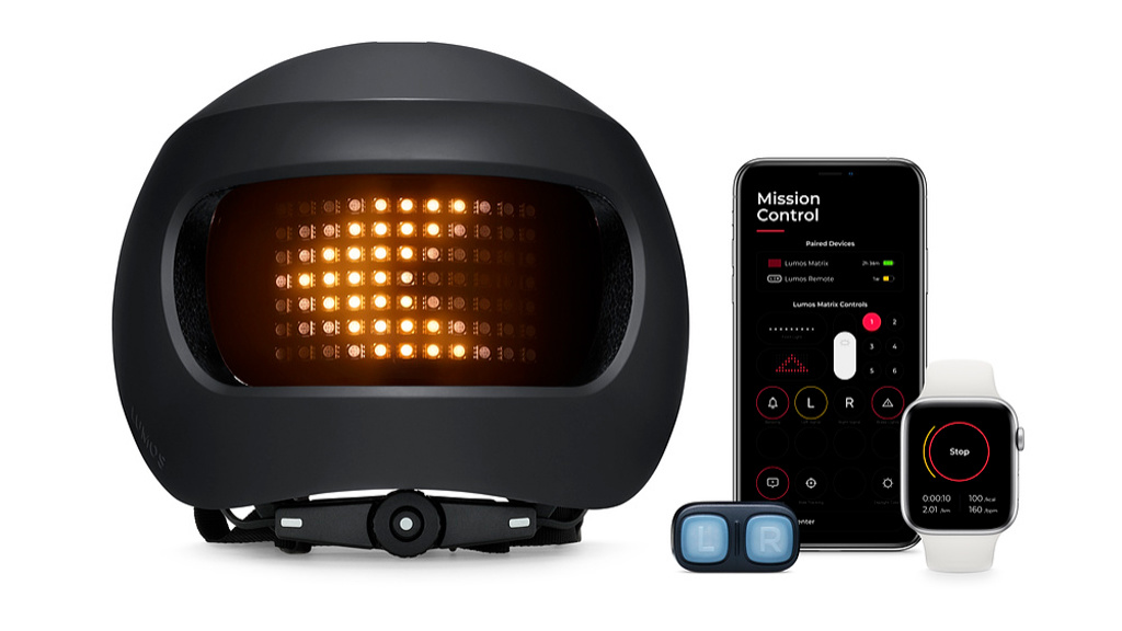 Apple: Lumos Matrix Urban – smarter Helm