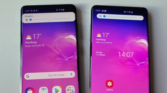 Samsung One UI 2.0 Android 10©COMPUTER BILD / Michael Huch
