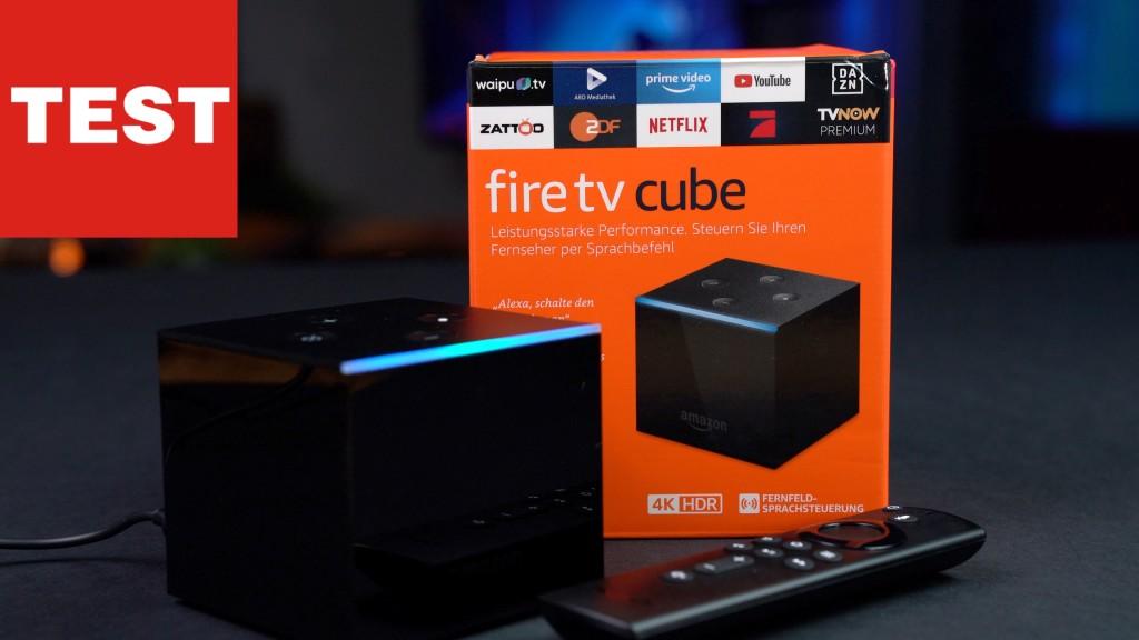 Amazon Fire TV Cube: Sprachsteuerung für jeden TV