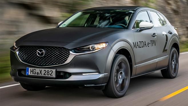 Mazda: Crossover EV ©Mazda