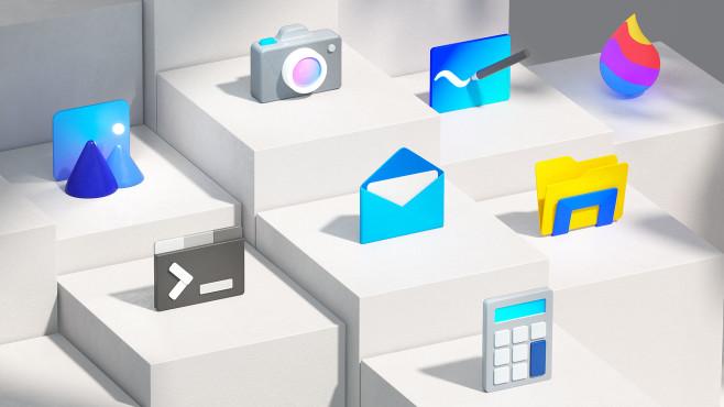 Windows 10 20H2: Neue Icons©Microsoft