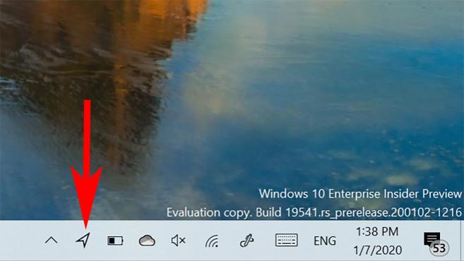 Windows 10: Standort-Symbol©Microsoft