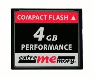 Die besten Weihnachtsgeschenke von ExtreMemory Compact Flash Card Performance 4 GB