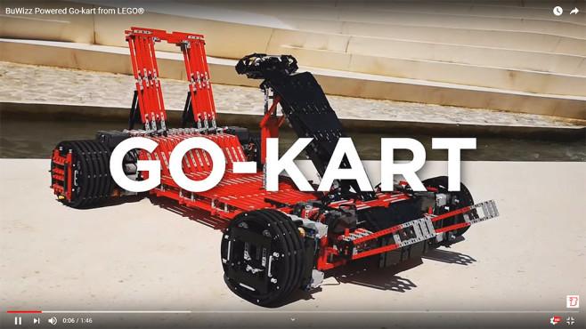 Lego-Gokart auf YouTube©BuWizz / YouTube