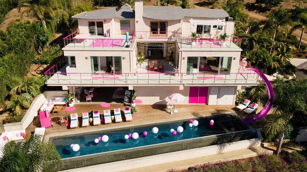 Ein Traum in Pink: Airbnb bietet Übernachtung im Barbie-Haus