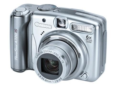 Die besten Weihnachtsgeschenke von 100 bis 200 Euro Canon Powershot A720 IS