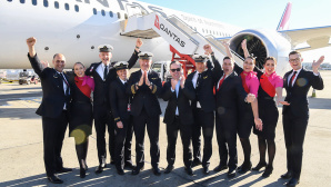 Crew von Qantas Airways © Photo by James D Morgan/Qantas