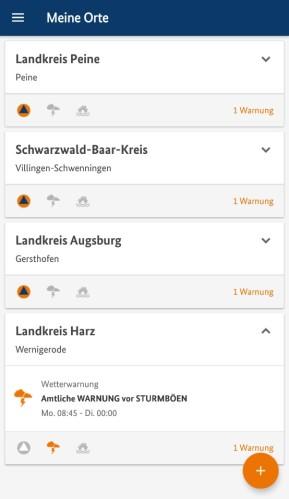 NINA (Android-App)
