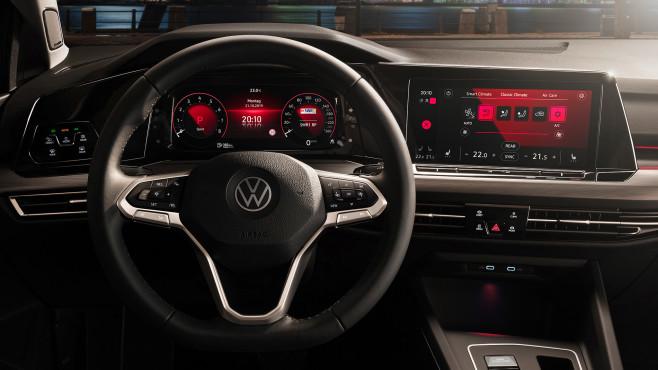 VW Golf 8 Cockpit©Volkswagen