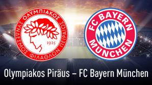 Olympiakos Pir�us gegen Bayern M�nchen©Olympiakos Pir�us, Bayern M�nchen, iStock.com/efks